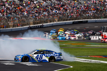 Jimmie Johnson Monster Energy NASCAR Cup Series O'Reilly Auto Parts 500