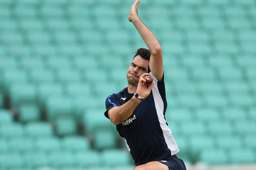 Jimmy Anderson England & South Africa Net Sessions