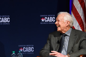 Jimmy Carter The Board of Directors of the Canadian American Business Council Presents a Conversation With Jimmy Carter and Joe Clark