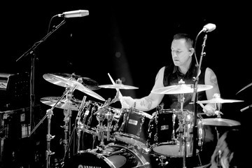 Jimmy Chamberlin The Smashing Pumpkins Perform At The Troubadour