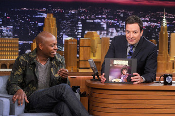 "Jimmy Fallon Dave Chappelle Visits ""The Tonight Show Starring Jimmy Fallon"""