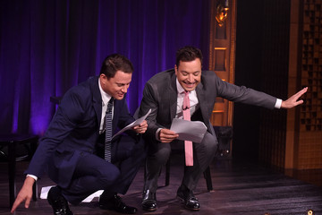 Jimmy Fallon Channing Tatum Visits 'The Tonight Show Starring Jimmy Fallon'