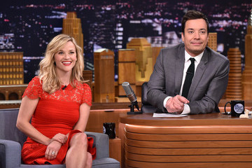 Jimmy Fallon Reese Witherspoon Visits 'The Tonight Show'