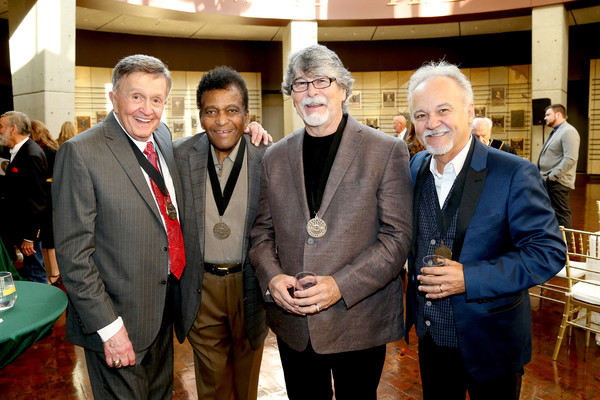 2019 Country Music Hall of Fame Medallion Ceremony [social group,event,community,suit,businessperson,management,employment,team,house,government,bill anderson,jimmy fortune,randy owen,charley pride,l-r,nashville,tennessee,country music hall of fame and museum,country music hall of fame medallion ceremony]