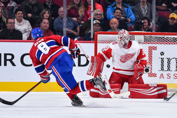 Jimmy Howard Detroit Red WIngs v Montreal Canadiens