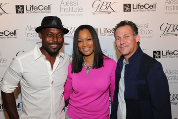 Jimmy Jean-Louis Garcelle Beauvais GBK & LifeCell 2016 Pre Oscar Lounge at the London West Hollywood - Day 2