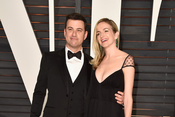 Jimmy Kimmel Arrivals at the Elton John AIDS Foundation Oscars Viewing Party — Part 5