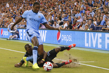 Jimmy Medranda Manchester City v Sporting Kansas City