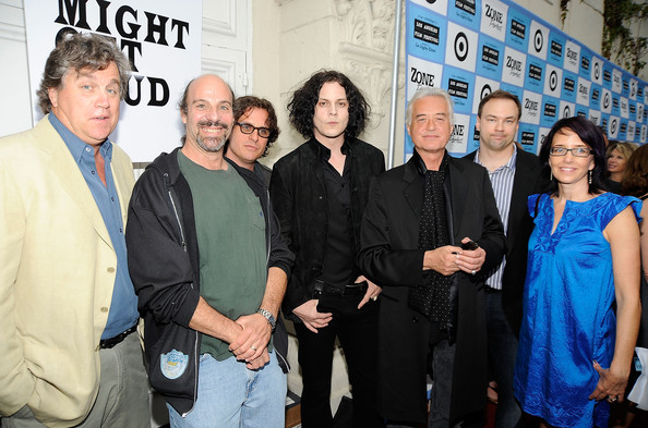 Jimmy Page and Davis Guggenheim Photos - Premiere Of Sony Pictures ...
