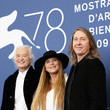 """Jimmy Page """"Becoming Led Zeppelin"""" Photocall - The 78th Venice International Film Festival"""