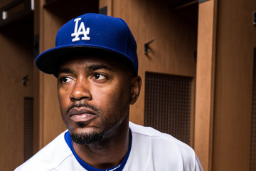 Jimmy Rollins Los Angeles Dodgers Photo Day
