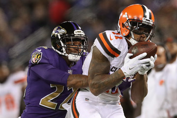 Jimmy Smith Cleveland Browns v Baltimore Ravens