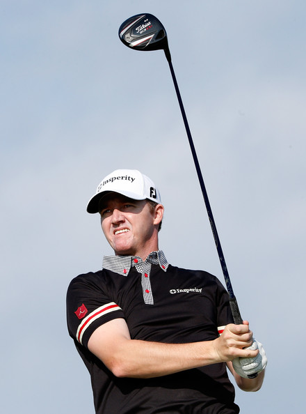 Jimmy Walker Jimmy Walker plays a shot during a practice round prior    Jimmy Walker 2013