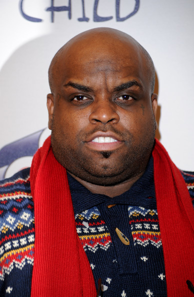 cee lo green in jingle bell ball 2010 day two arrivals zimbio