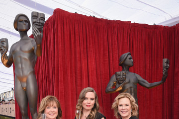 JoBeth Williams Cyd Wilson The 23rd Annual Screen Actors Guild Awards - Red Carpet