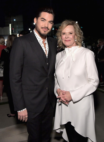 SAG-AFTRA Foundation's 3rd Annual Patron of the Artists Awards [suit,formal wear,fashion,event,tuxedo,premiere,haute couture,dress,smile,fashion design,jobeth williams,adam lambert,beverly hills,california,wallis annenberg center for the performing arts,sag-aftra foundation,sag-aftra foundations 3rd annual patron of the artists awards]