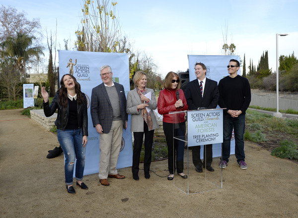 The 22nd Annual Screen Actors Guild Awards - SAG Awards and American Forests Tree Planting At The L.A. River