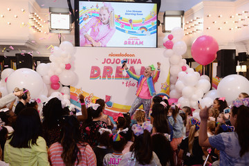 JoJo Siwa Nickelodeon's JoJo Siwa Announces Her Upcoming EP And D.R.E.A.M. Tour At Sugar Factory In NYC