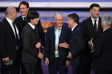 Joachim Loew Final Draw for the 2018 FIFA World Cup Russia