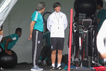 Joachim Loew Germany Training And Press Conference