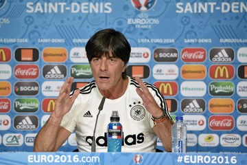 Joachim Low Euro 2016 - Germany Press Conference