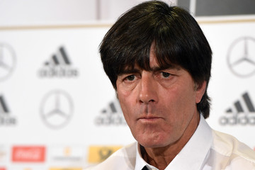 Joachim Low Germany - Training & Press Conference
