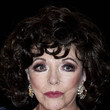 """Joan Collins """"Glow & Darkness"""" Madrid Photocall"""