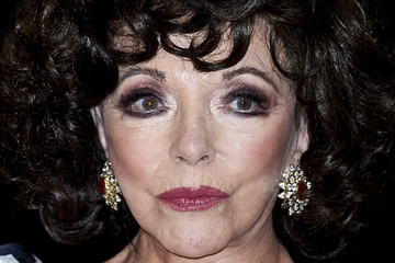 "Joan Collins ""Glow & Darkness"" Madrid Photocall"