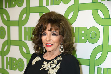 Joan Collins HBO's Official Golden Globe Awards After Party - Red Carpet