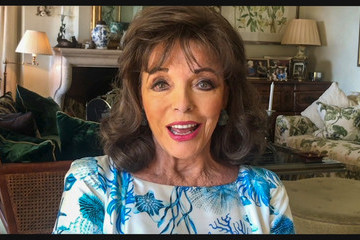 Joan Collins 2020 Carousel Of Hope Ball