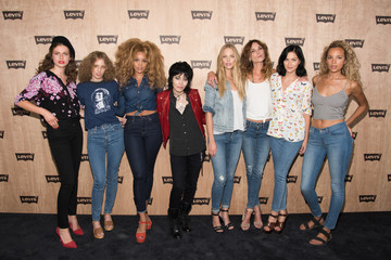 Joan Jett Celebrities Attend Levi's Women's Collection Exhibition Launch