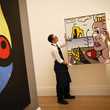 Joan Miro Sotheby's Hold Press Preview of Contemporary, Impressionist and Modern Art
