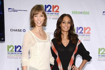 Joan Smalls Karlie Kloss 12-12-12 Concert Benefiting The Robin Hood Relief Fund To Aid The victims Of Hurricane  - Press Room