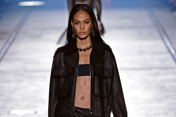 Joan Smalls Versace - Runway - Milan Fashion Week SS16