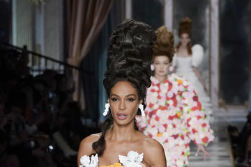Joan Smalls Moschino - Runway - Milan Fashion Week Fall/Winter 2020-2021