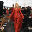 Joan Van Ark Backstage at The Heart Truth Red Dress Collection Show