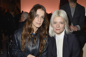 Joana Preiss Louis Vuitton : Front Row  - Paris Fashion Week Womenswear Fall/Winter 2014-2015