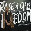 Joanna Hillman American Express Celebrates the New Platinum Card With Hamilton Takeover Experience in New York City