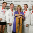 Joanna Lumley Speedo Hope for Youth Charity Event