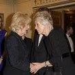 Joanna Trollope The Duchess Of Cornwall Attends The National Literacy Trust 25th Anniversary Reception