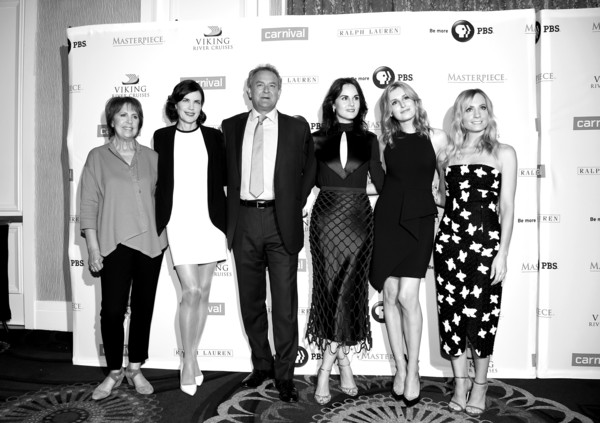 Actors Attend the 'Downton Abbey' Cast Photo Call