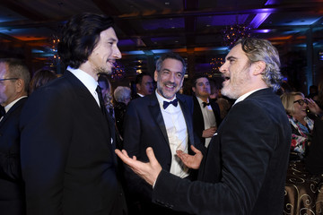 Joaquin Phoenix Todd Phillips 31st Annual Palm Springs International Film Festival Film Awards Gala - After Party