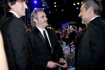 Joaquin Phoenix Todd Phillips 26th Annual Screen Actors Guild Awards - Cocktails