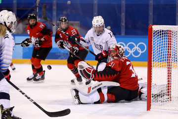 Jocelyne Lamoureux Ice Hockey - Winter Olympics Day 6