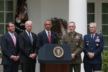 Joe Biden Obama Announces Gen. Joseph Dunford Jr. As His Pick to Be the Next Chairman of The Joint Chiefs Of Staff