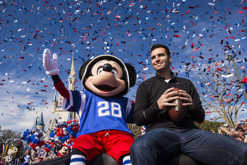 Joe Flacco Joe Flacco Goes To Disney World Following Super Bowl XLVII Victory