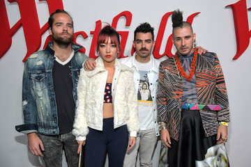 Joe Jonas Jack Lawless Westfield Century City Reopening Celebration