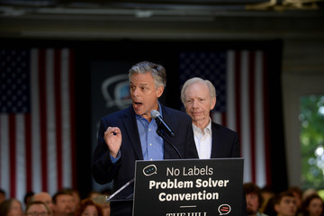 Joe Lieberman Presidential Candidates Address No Labels 'Problem Solver' Convention in NH