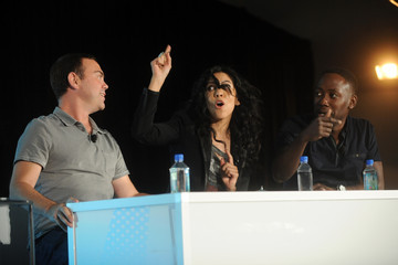 Joe Lo Truglio Stephanie Beatriz Vulture Festival - Day 2
