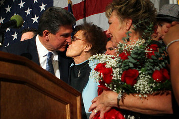 Gayle Manchin Joe Manchin Attends Election Night Gathering In Charleston
